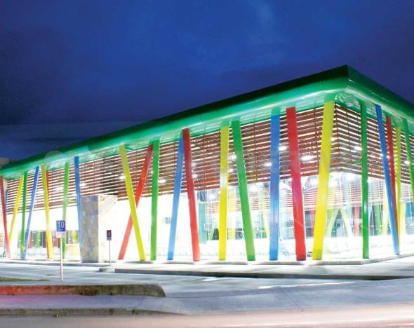 Terminal de San Cristóbal fue premiada en IX Bienal de Arquitectura