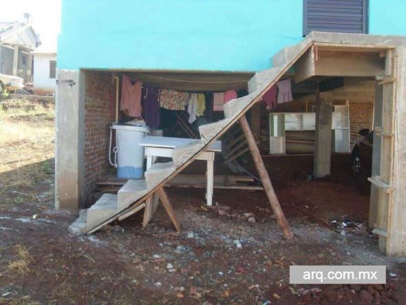 Humor en la arquitectura. Diseño de escaleras