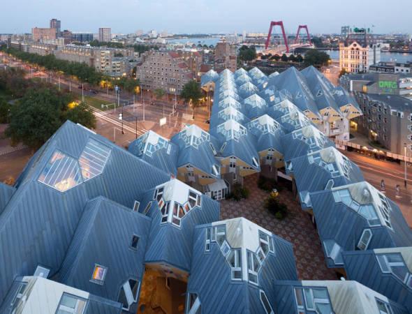 El futuro de la arquitectura ha llegado a Rotterdam
