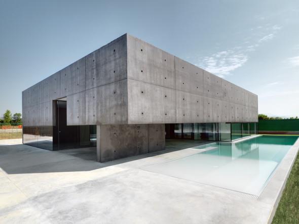 La vivienda piscina