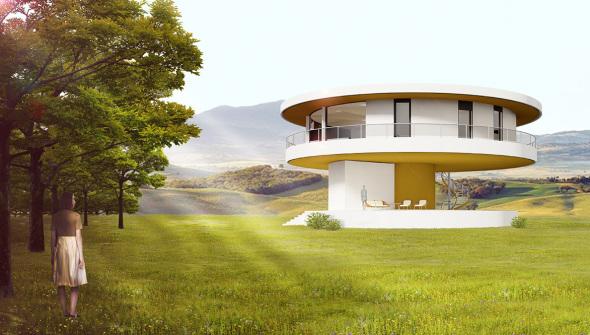 La primera casa inteligente giratoria de Europa