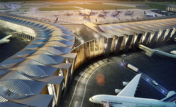 Nuevo aeropuerto impulsará a la industria de la construcción. Norman Foster