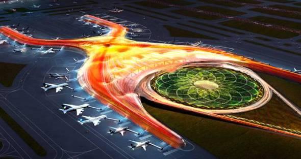El nuevo aeropuerto de la Ciudad de México, con falla de alto costo