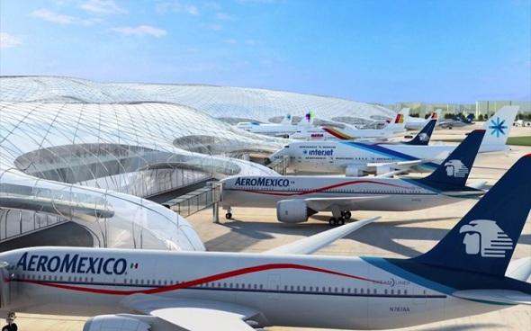 Ingleses quieren participar en proyecto de nuevo aeropuerto NAICM