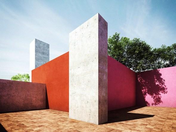 Luis Barragán. Maestro en el manejo de la luz, el color y el espacio.