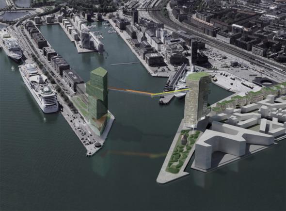 La pista para ciclistas más alta del mundo se planea en Copenhague