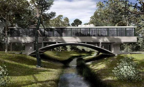 Dibujantes urbanos, al rescate de la Casa del Puente