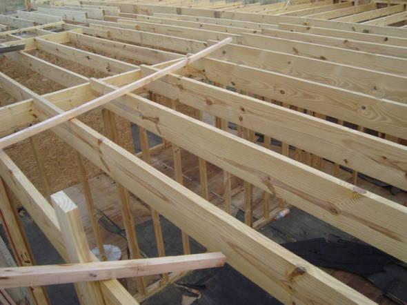 Cómo diseñar entrepisos y techos en madera