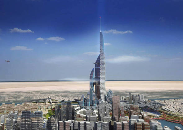 Ciudad Vertical en Asora será el edificio más alto del mundo
