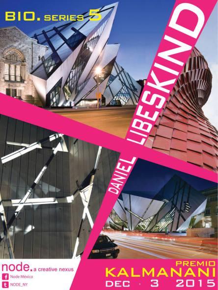 Daniel Libeskind recibe el premio Kalmanani 2015 en México