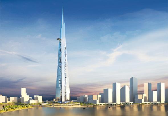 Jeddah Tower será el edificio más alto del mundo