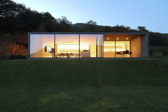 Casa prefabricada elegante y sostenible se construyó en tan sólo unos días