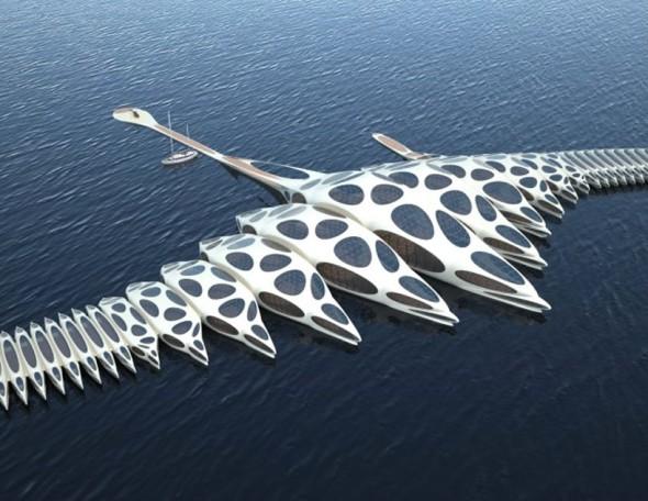 Hotel de lujo en el oceano
