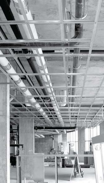 Sistemas de Suspensión de paneles de yeso DGS de Panel Rey