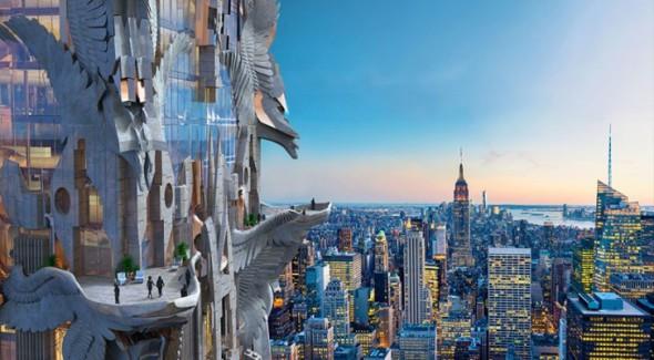 Rascacielos escultural se planea en Nueva York