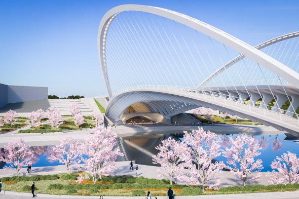 Santiago Calatrava planea tres puentes en China
