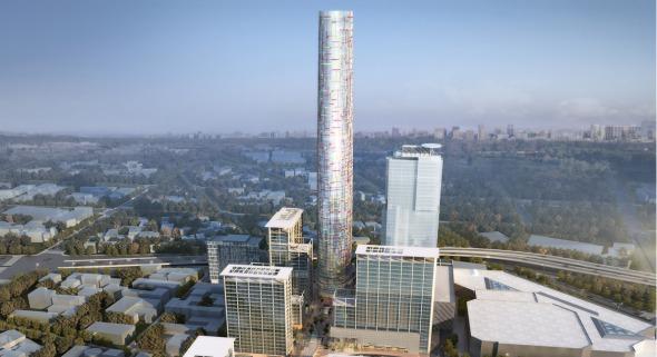 Se reanuda construcción de la torre más alta de la Ciudad de México de César Pelli