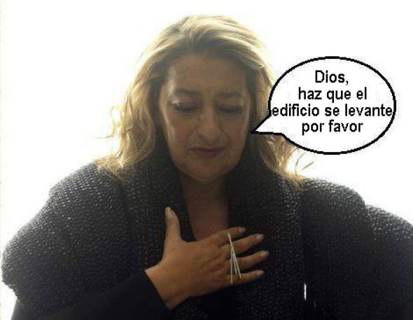Oración que hacía Zaha Hadid antes de cada proyecto