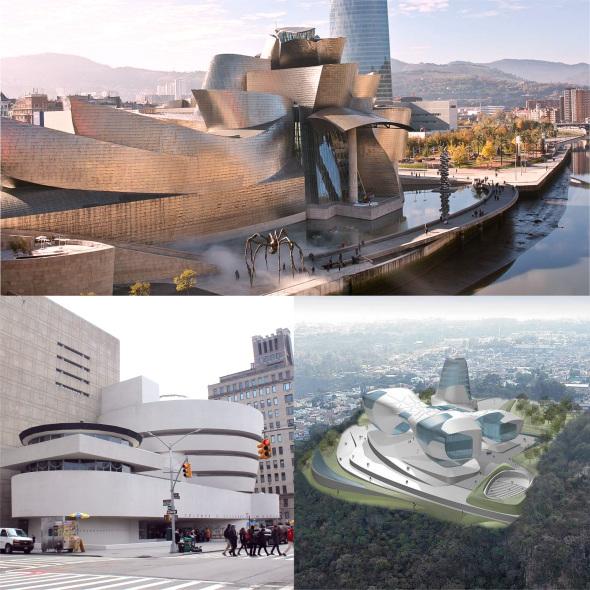 Guggenheim de Bilbao de Frank Gehry cumplió 18 años