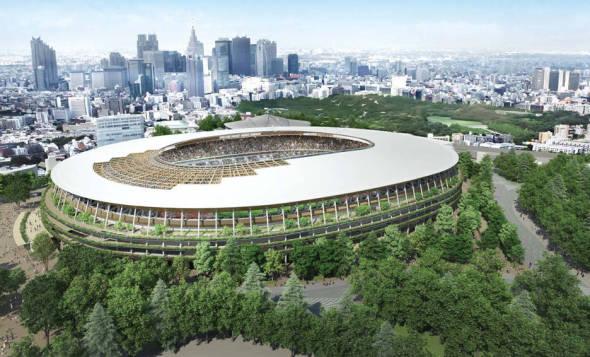 Kengo Kuma le gana a Toyo Ito en concurso para diseño de estadio de Tokio 2020
