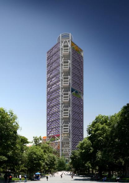 Se construye ciudad vertical en Reforma