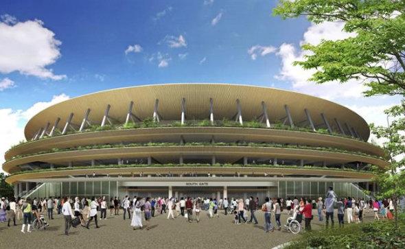 Tradición y modernidad en estadio para olímpicos de Tokio 2020
