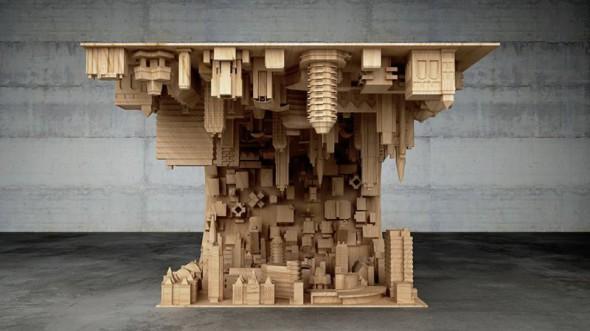 La mesa de centro perfecta para un arquitecto
