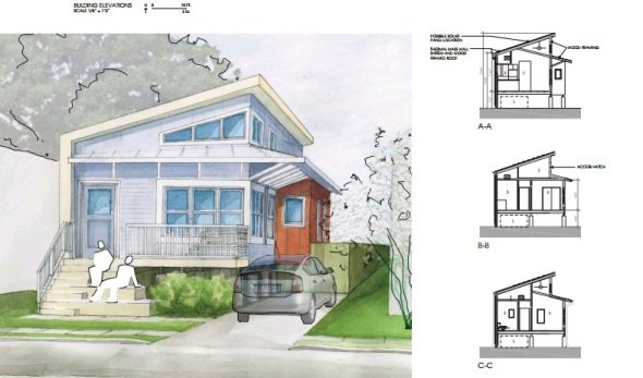 25 planos gratis para construir casas sustentables for Planos de arquitectura de casas pdf