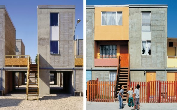 """¿Cómo es vivir en las casas sociales creadas por el chileno ganador del """"Nobel"""" de Arquitectura?"""