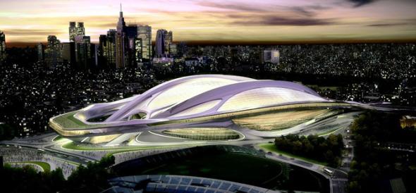 El estadio olímpico enfrenta a Japón y a la arquitecta Zaha Hadid