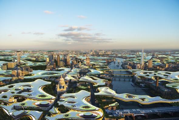 El arquitecto que diseñó la sede de Google quiere convertir Londres en una oficina infinita
