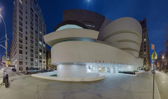 Ofrece Google paseo por el Guggenheim