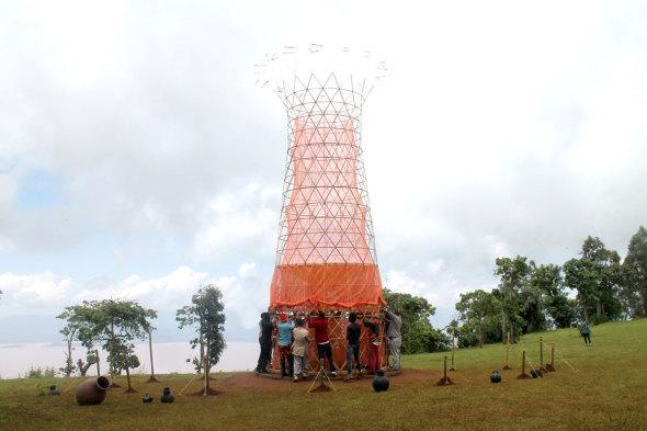 Proyecto Warka: agua del aire
