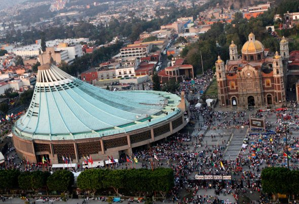 La historia inédita de la nueva Basílica de Guadalupe