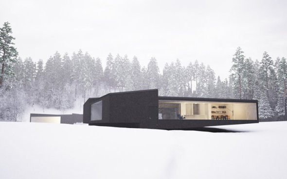 Casas gemelas: la geometría nunca se vio tan bien