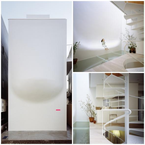 Una casa sin ventanas que se ilumina naturalmente