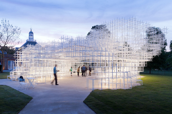 La arquitectura transparente del Serpentine Pavilion