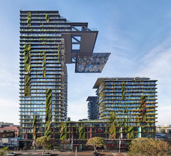 One central park: un original proyecto sustentable que cambia de color en cada estación