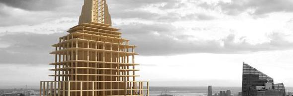 Rascacielos de madera, un nuevo desafío