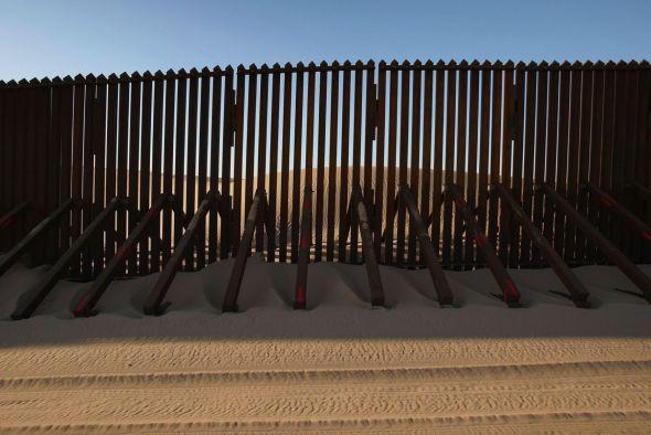 Un concurso para el diseño del muro que Trump quiere construir entre México y Estados Unidos
