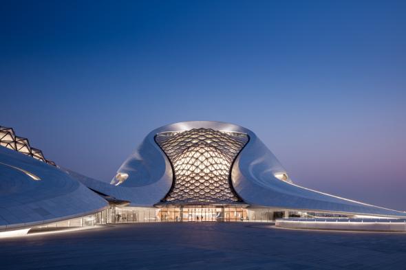 El Palacio de la Ópera china que hace estremecer a Sídney