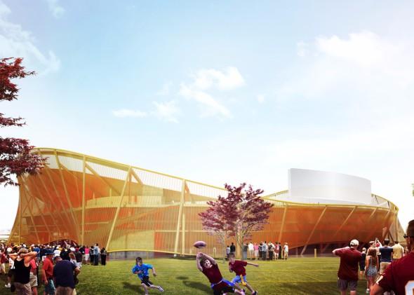 El estadio más moderno del mundo será semitransparente y ondulante