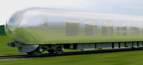 La Arquitecta Kazuyo Sejima diseñó el primer tren casi invisible