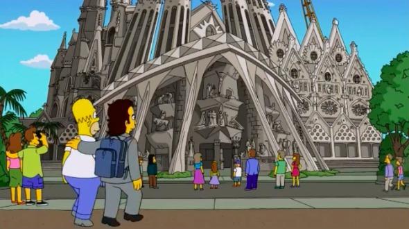 La Arquitectura en Los Simpson