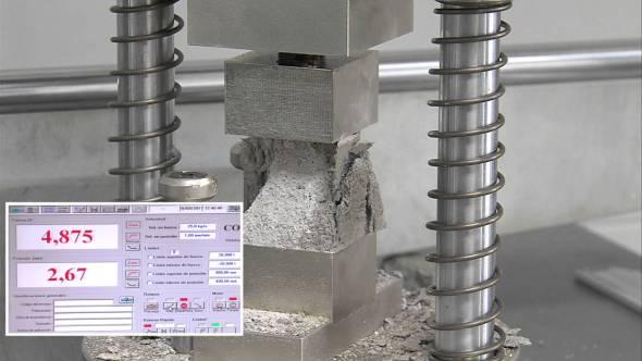Mejoran propiedades del concreto con láser
