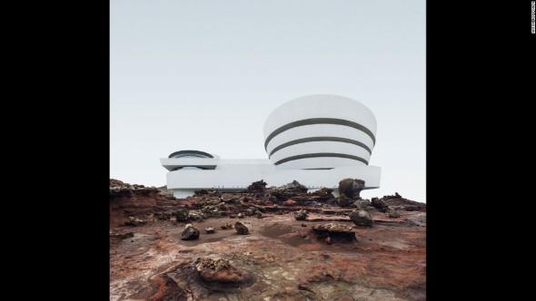 Los edificios neoyorquinos más famosos trasladados al desierto