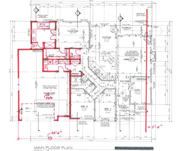 ¿Puede un arquitecto impedir que las casas que diseñó sean modificadas?