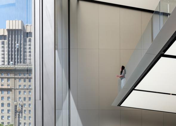 Foster + Partners devela la tienda Apple en Union Square en San Francisco