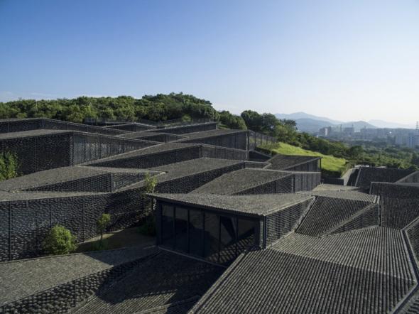 Museo pueblo: Academia China de Arte Popular por Kengo Kuma