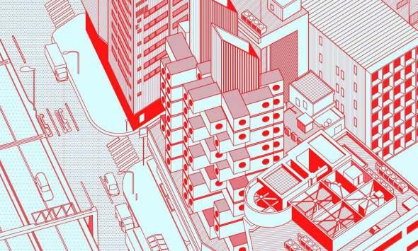 Fantásticas Ilustraciones Realizadas con AutoCAD